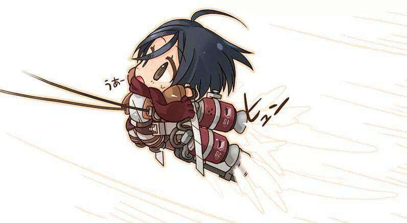 Chibi Mikasa