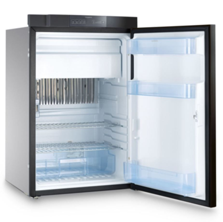 Dometic Rm8501rfbp Euro Style Refrigerator Freezer 3 Way 3 7 Cu Ft Refrigerator Freezer Modular Shelving Refrigerator