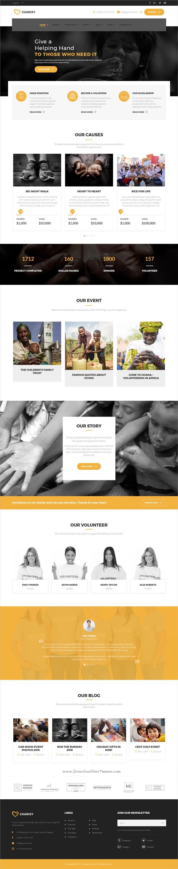 ZK Charixy - Charity/Fundraising WordPress Theme