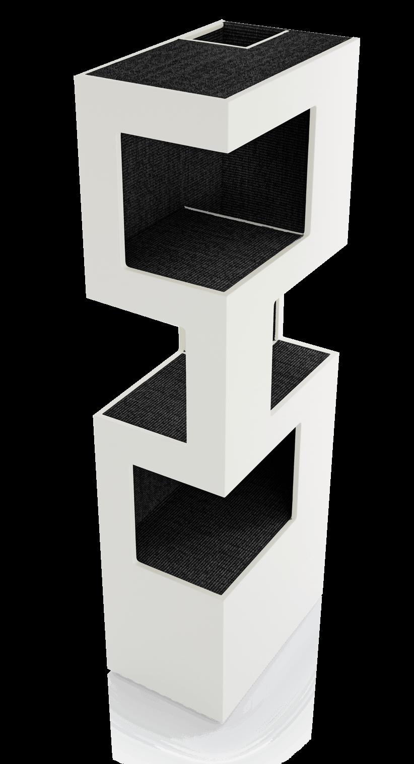 moderner kratzbaum the one kratzen klettern pinterest katzen kratzbaum und hund und katze. Black Bedroom Furniture Sets. Home Design Ideas
