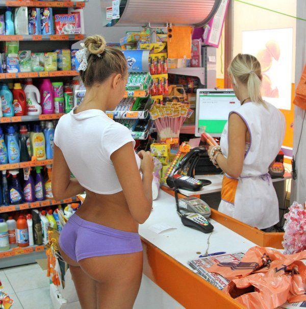 Image result for drawing naked man supermarket shopping