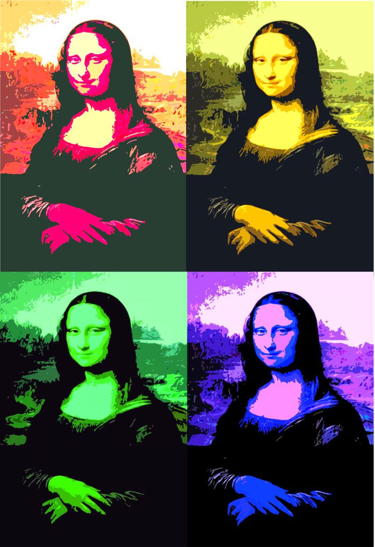 En commun La Gioconda   Mona Lisa say what?   Pinterest   Pop art, Art and #YT_92