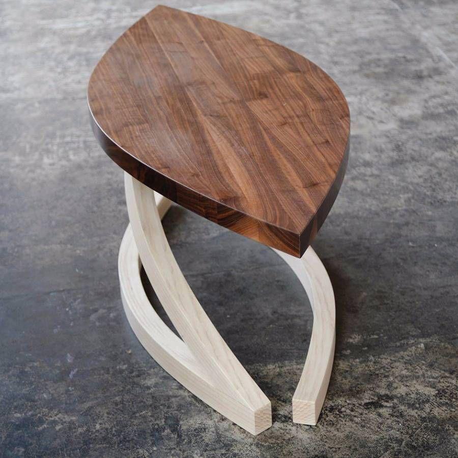 Jani Frene Table Basse En Frene Massif Et Noyer Un Proj Table Basse Table Bois Table