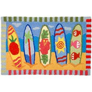 Surf board rug
