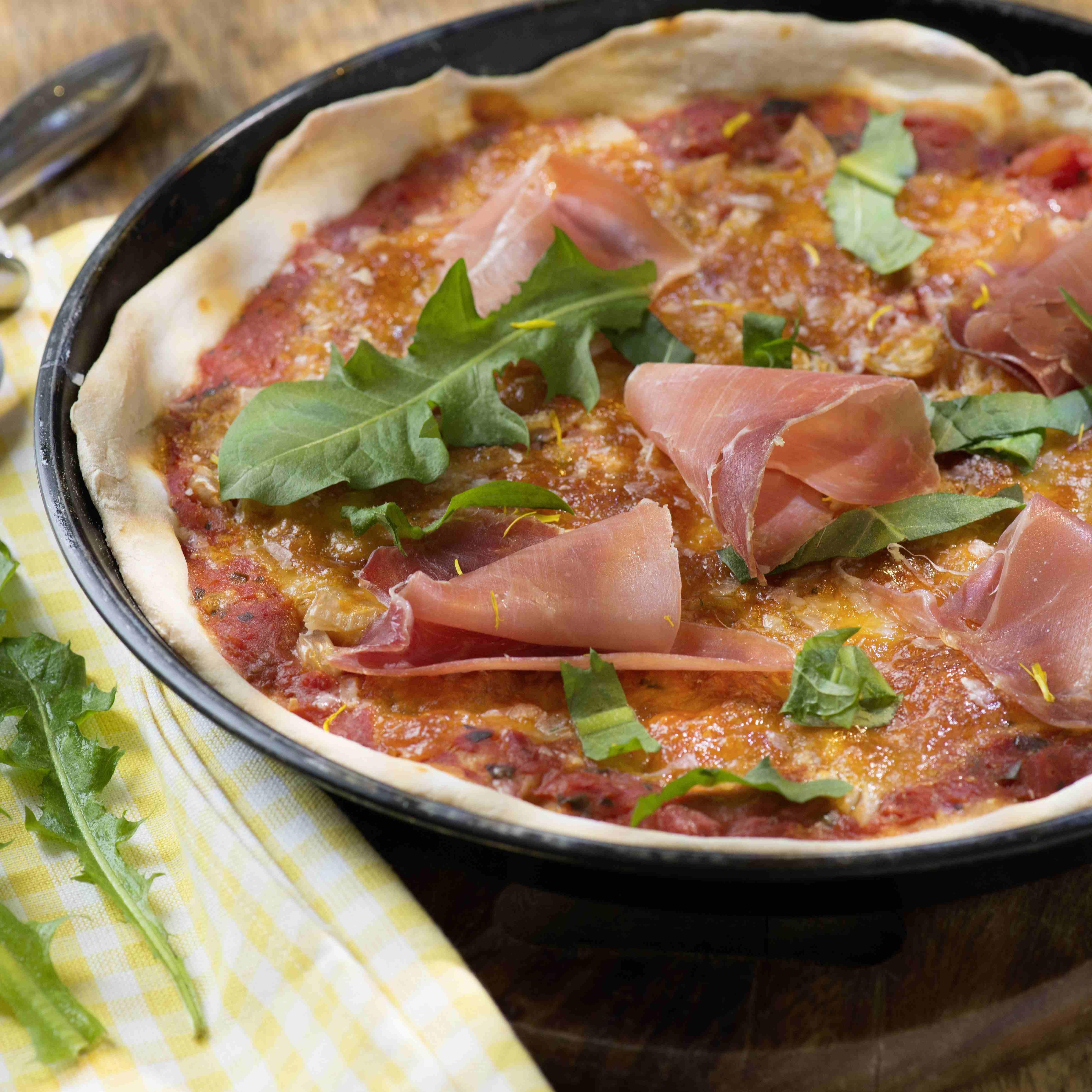 Löwenzahn-Pizza