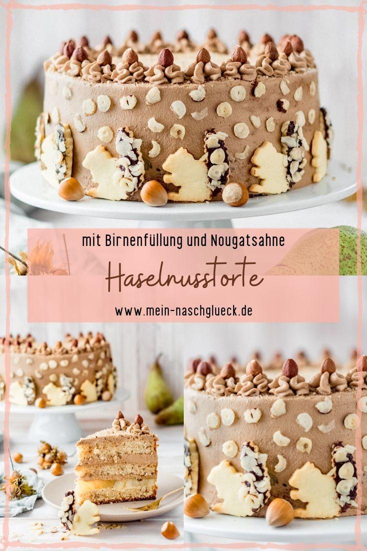 Photo of Hazelnut cake with squirrel biscuits