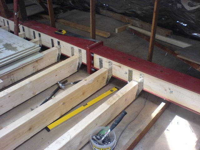 Loft Conversion Structural Alterations Steel Beam In