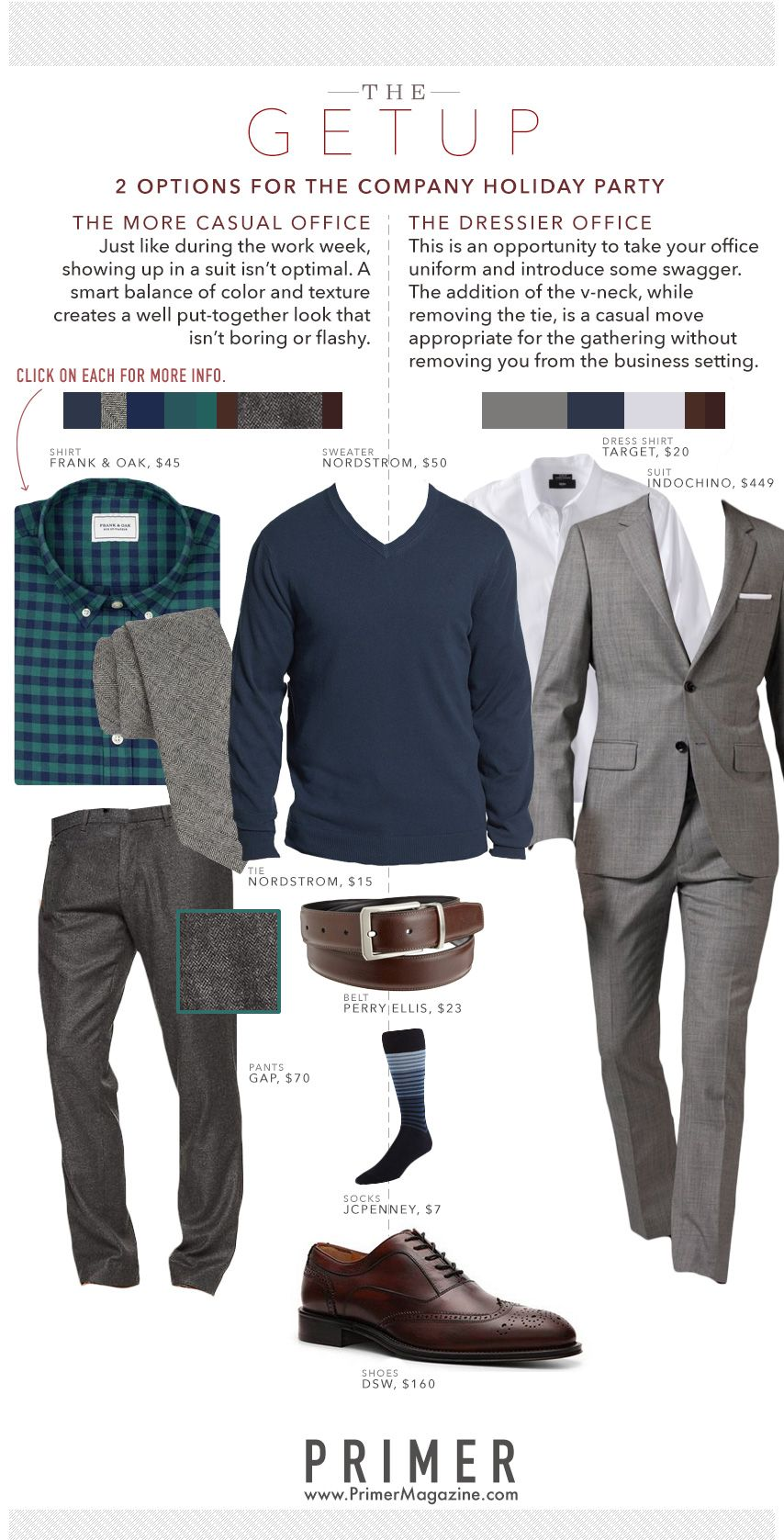 The Getup: 2 Options for The Company Holiday Party | Things to Wear ...