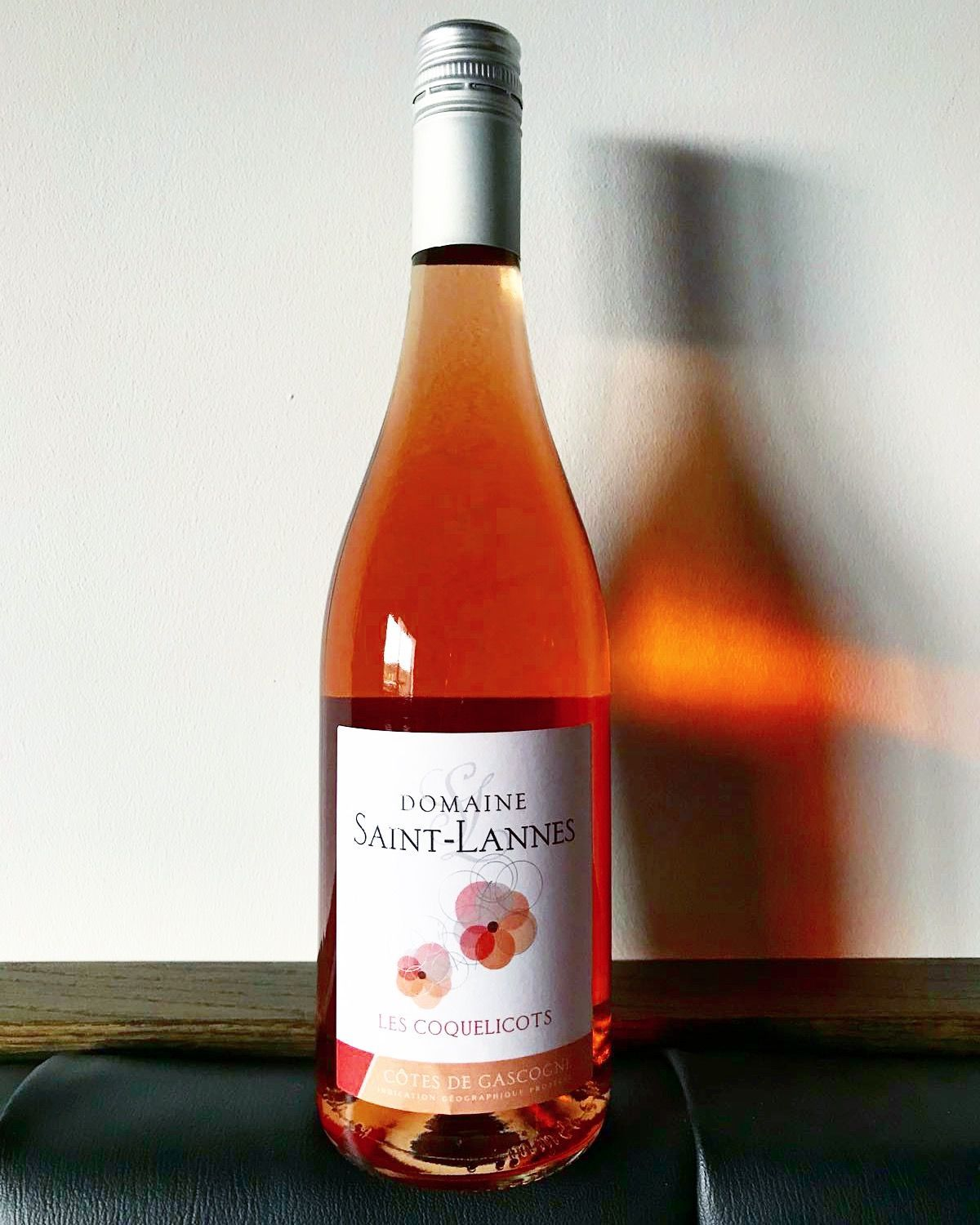 Wine Of The Week Domaine Saint Lannes Les Coquelicots Rose 2017 A Red Berry Fruity Salad In A Glass A Beautiful Salmon Pink Rose Fr Rose Rose Wine Fruity