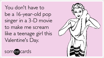 Justin Bieber Never Say Never 3D Movie Valentines Day – Some E Cards Valentines