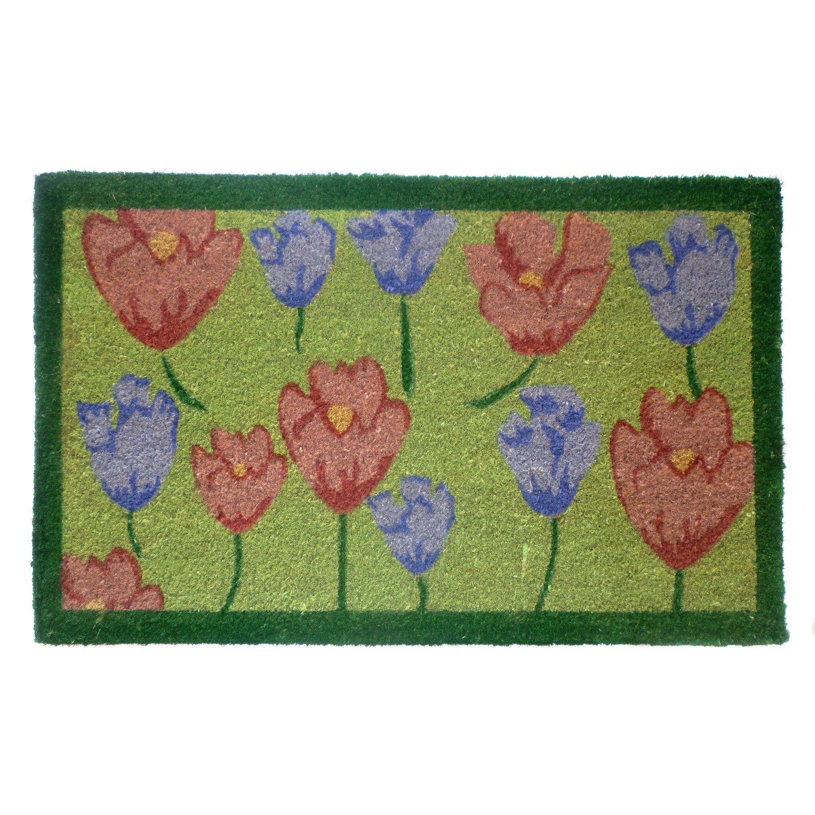 Geo Crafts Tulips Door Mat in 2019 | Products | Flower