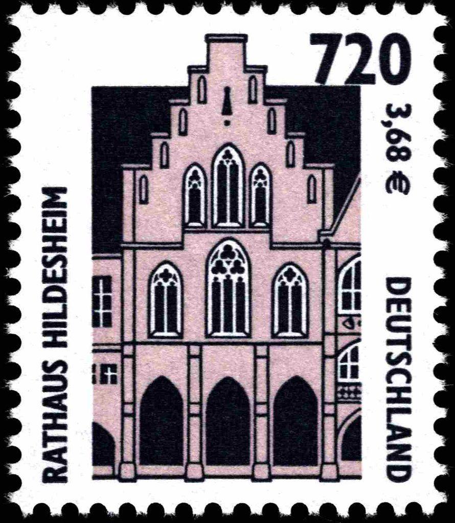 Deutschland 2001 Sehenswurdigkeiten Rathaus In Hildesheim