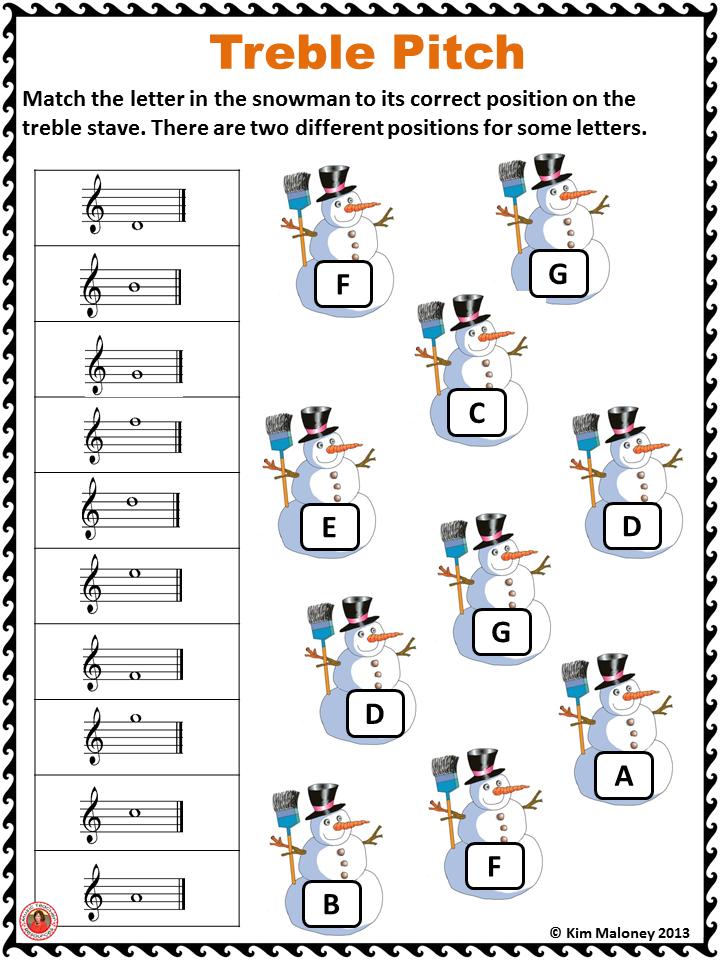 Free music worksheets pdf