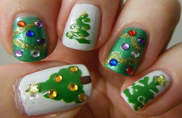 Christmas Nail Art Gallery