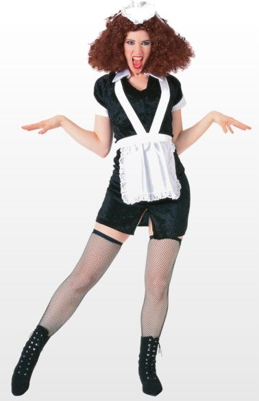 Magenta Rocky Horror Show Plus Size Costume Rocky Horror Picture