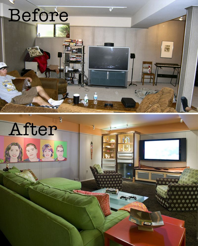 Karen's House Before And After