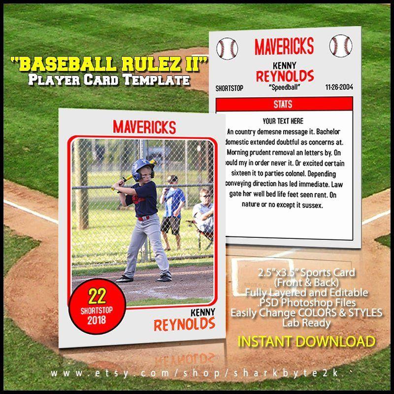 Baseball Trading Card Template Lovely Baseball Card Template Perfect For Trading Cards For Baseball Card Template Trading Card Template Baseball Trading Cards