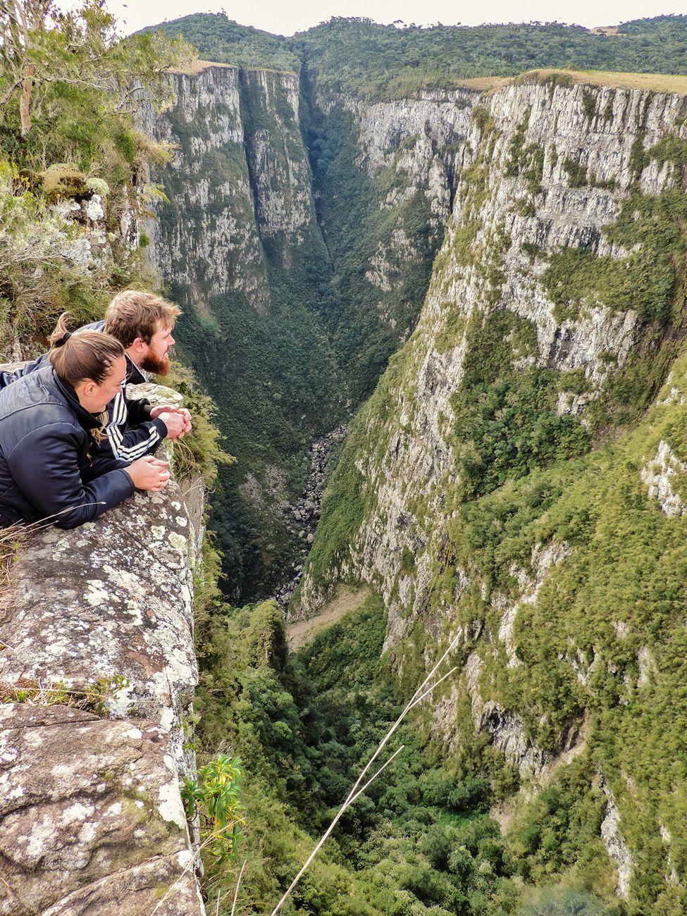 Canion Das Laranjeiras Parque Nacional De Sao Joaquim Sc Com