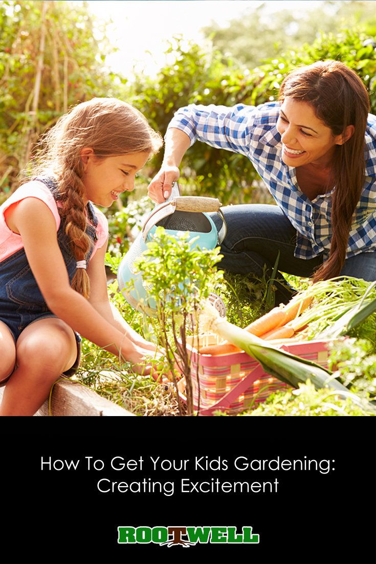 How To Get Your Kids Gardening Creating Excitement