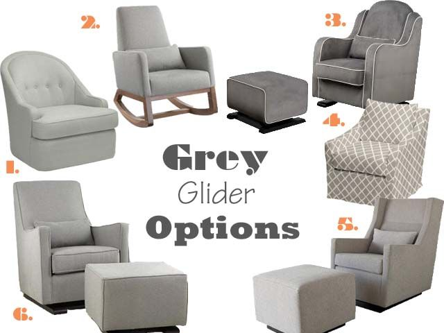 Love The Grey Rocking Chair!