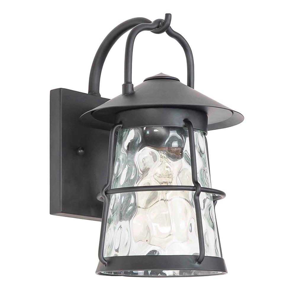 Eglo Taos Canyon 1 Light Matte Black Outdoor Wall Lantern Sconce 203127a Outdoor Wall Lighting Outdoor Wall Lantern Wall Mounted Light