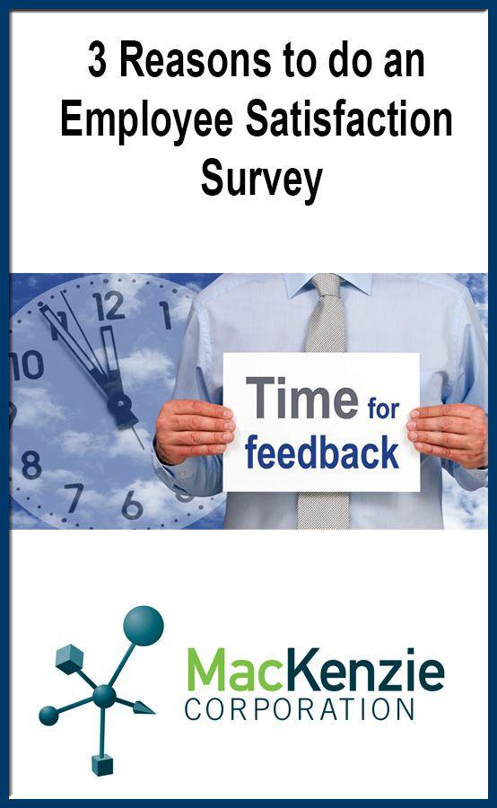 3 Reasons to Do an Employee Satisfaction Survey - feedback survey template
