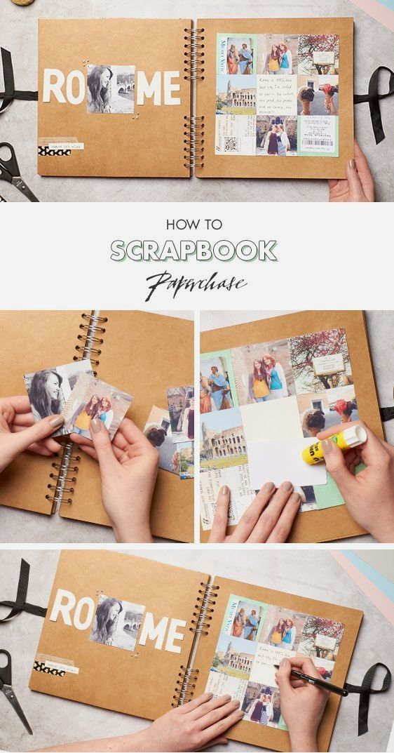 Check Out These Scrapbook Ideas Click Pic For Various Scrapbooking
