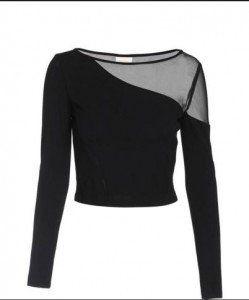 black blouse Collection Miss Sixty Άνοιξη-Καλοκαίρι 2016