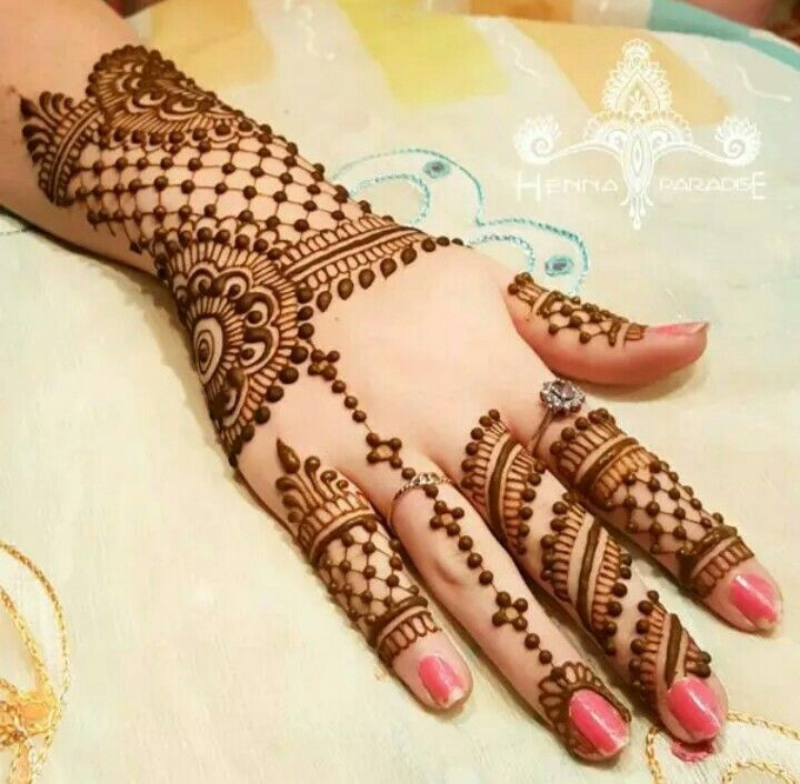 Mehndi Designs For Hands Red : Pin by r�m�n on best mehendi designs pinterest