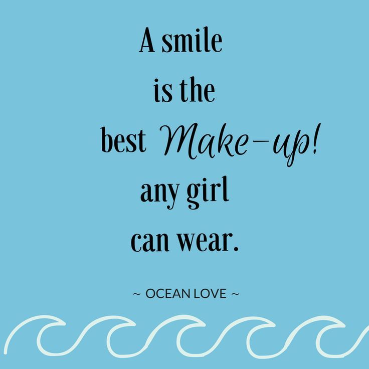 Photo of A smile is the best makeup a girl can wear. | Sayings | Z …