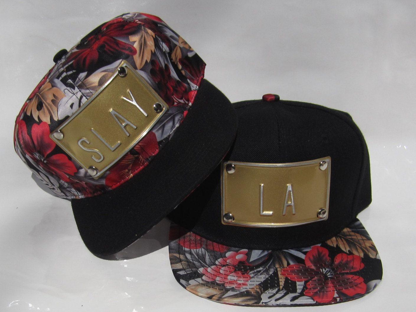 fb375c77fca ... HAT floral hawaiian snapback hawaiian hats flower snapbacks flower hat  hawaiian floral hat slay hat la slay snapback king hat by rojasclothing on  Etsy