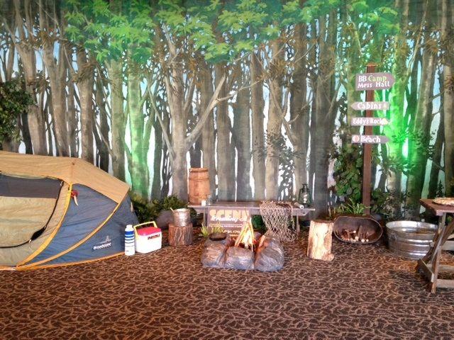 Camp Scene Jpg 640 480 Camping Theme Camping