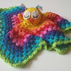 Knuffeldoekje Uiltje Cudlle Blanket Owl For Sale At Froebelnl