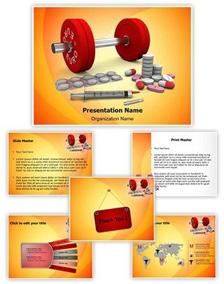 Doping Powerpoint Presentation Template Is One Of The Best Medical