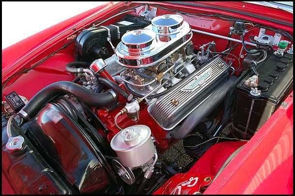 Ford Y Block Family 312cid 2x4 260hp Produced 1956 And 1957 Ford Thunderbird Ford Racing Engines Ford