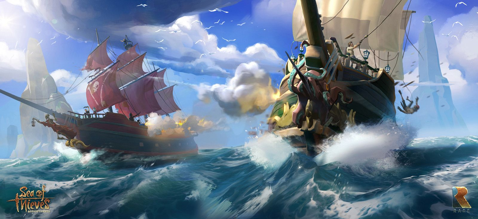 Sea Of Thieves_concept, Ricardo Robles on ArtStation at