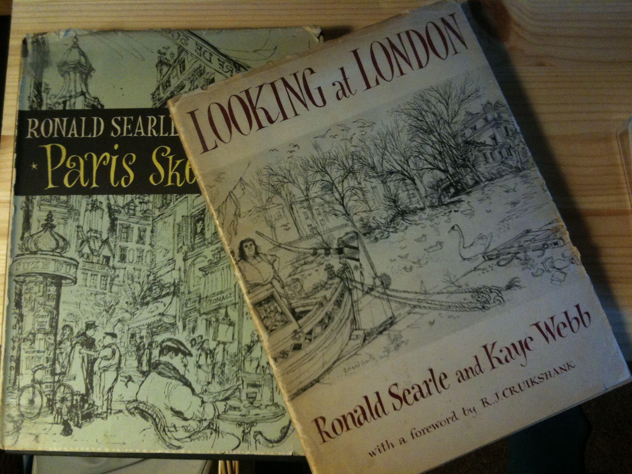 Ronald Searle And Kaye Webb Books
