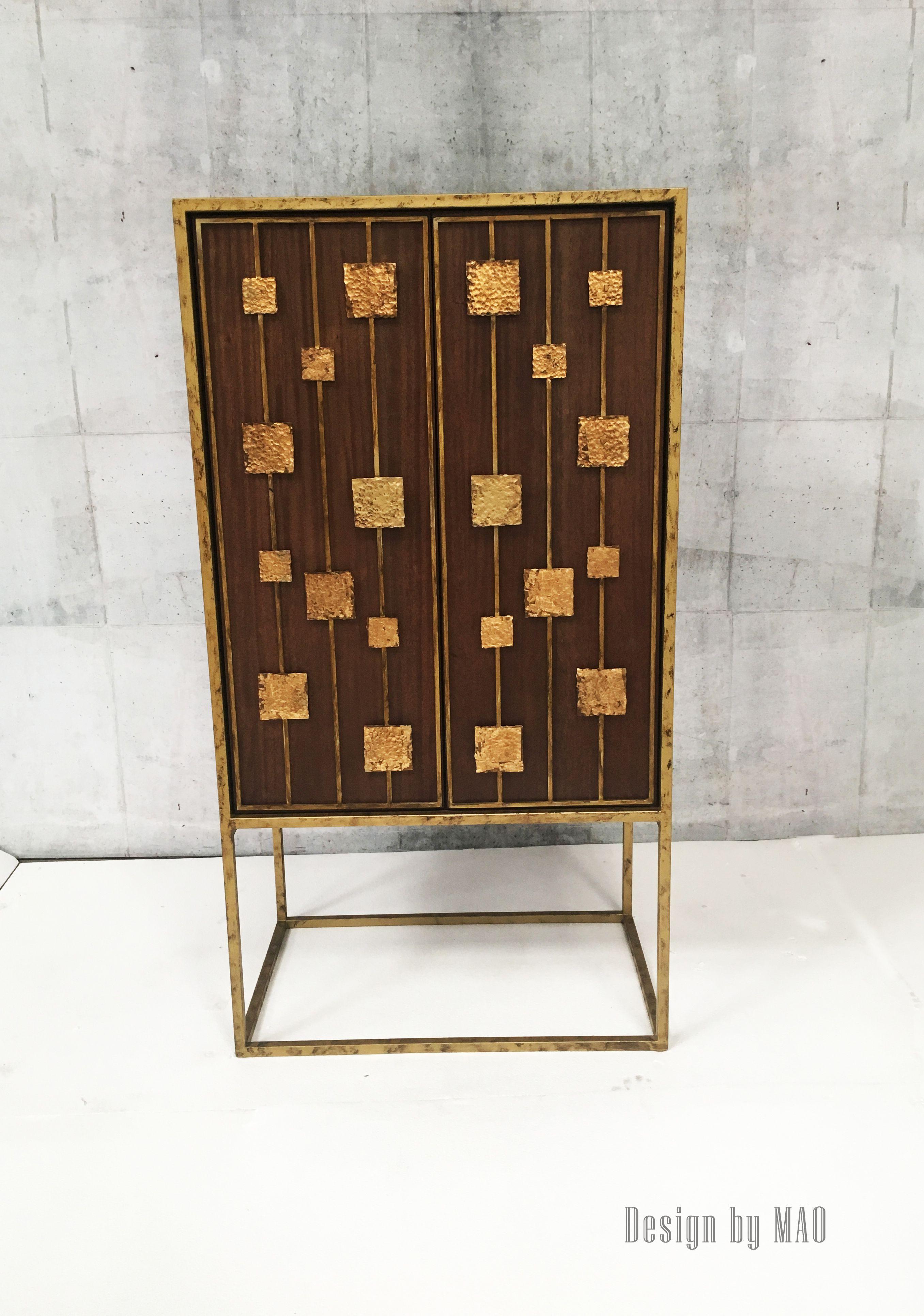 BAR ALQUIMIA Diseñado Para Studio NOA Detalles En Pan De Oro / BAR ALQUIMIA  Design By