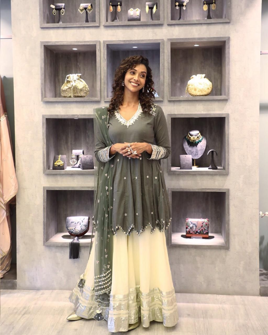 Translating the season's festive spirit, designer Priyanka Singh