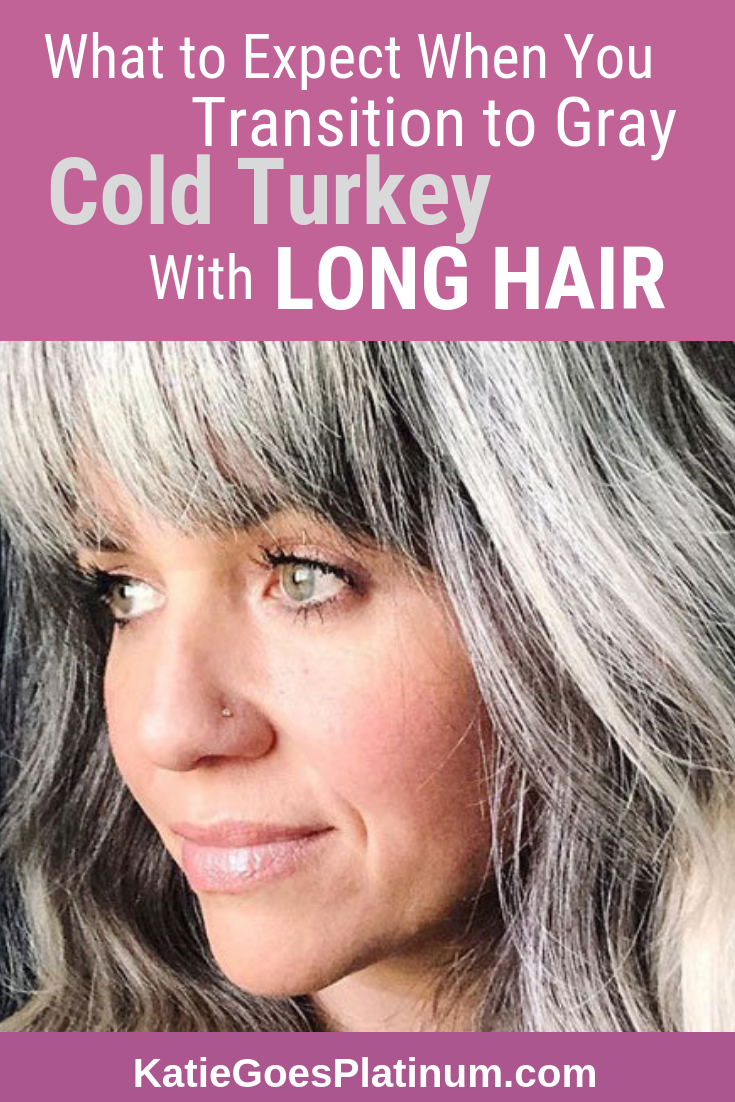 Why and How to Go Gray with Long Hair  Transition to gray hair