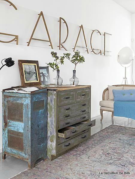 D coration avec de la r cup ration vieux mobilier et r cup for Recuperation de vieux meubles