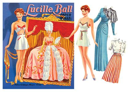 Vintage Reproduction Paper Dolls from Paper Studio Press JUDY GARLAND--Lovely