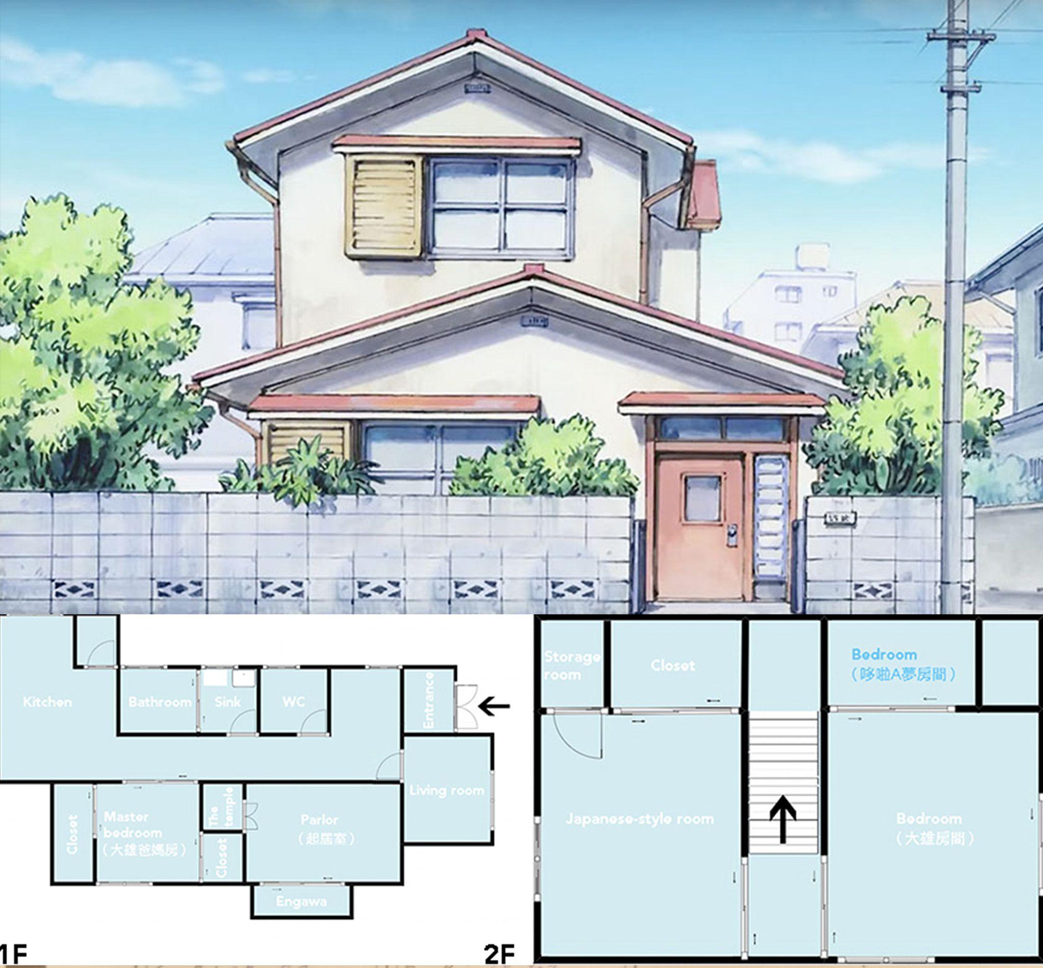 Nobita S House Desain Arsitektur Desain Rumah Arsitektur