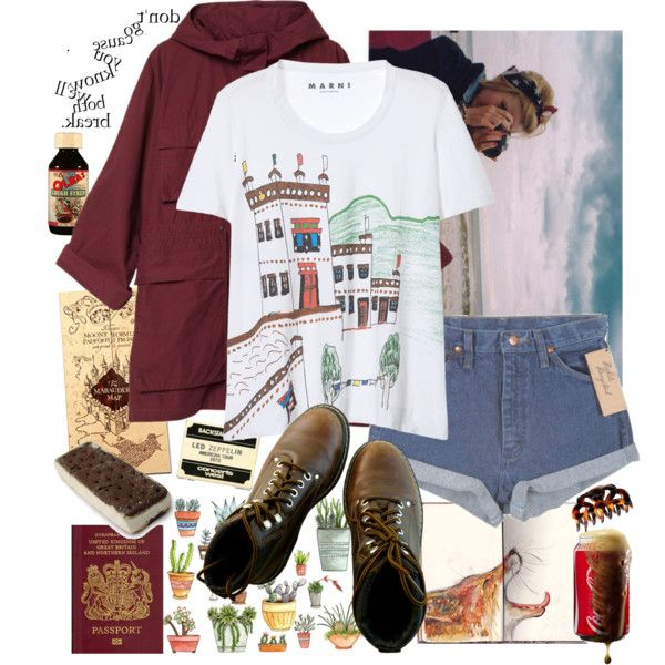 A fashion look from April 2015 featuring cotton t shirts, Monki y lace up boots…