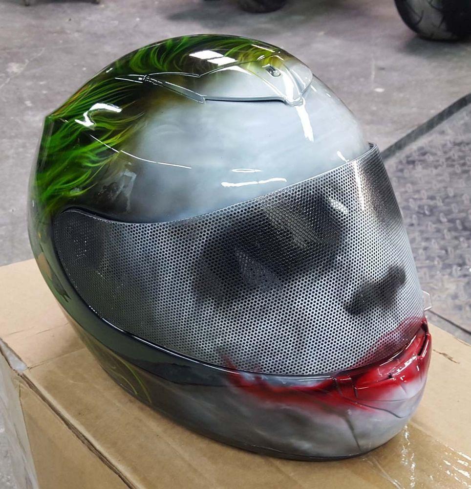 879674dc Details about JOKER HJC AIRBRUSHED HELMET   Bikes and helmets   Hjc ...