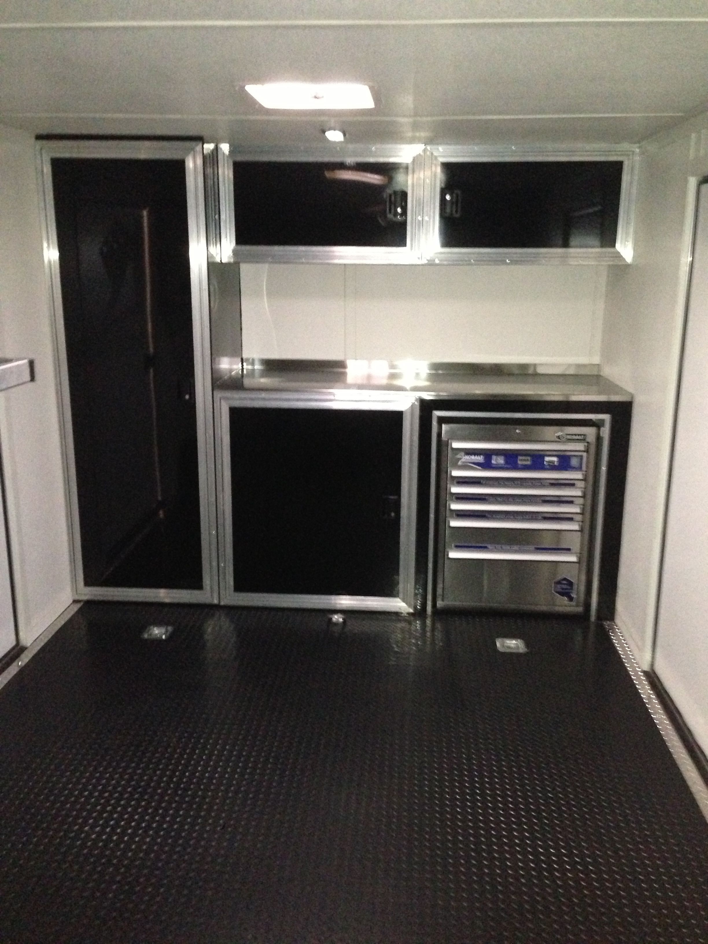 Superieur Race Trailer Cabinets