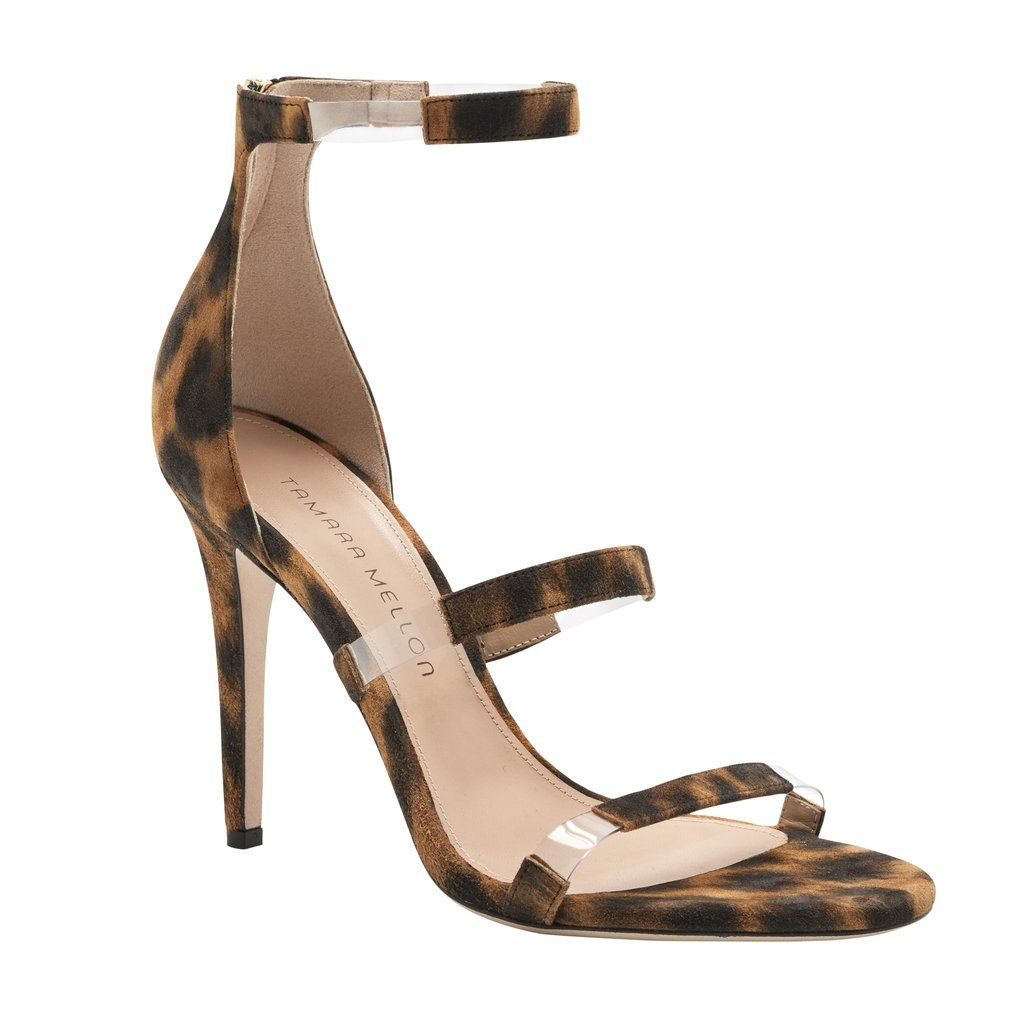 Heel Height – 4.1 in | 105 mmMaterial –Suede, PVCMadein Italy