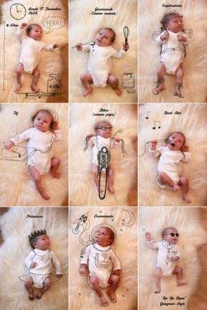 Des faire-part de naissance originaux repérés sur Pinterest