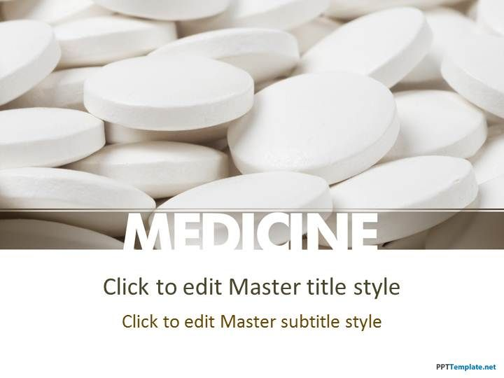 Free Pharma Medicine Ppt Template  Places To Visit