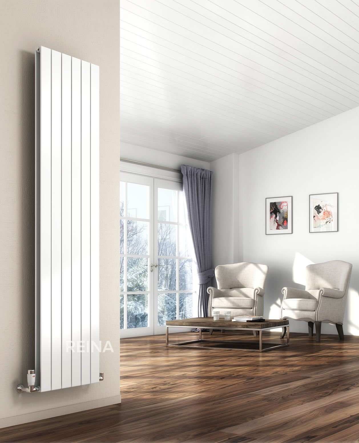 The Reina Vertical Flat Radiator. The Designers at Reina have taken ...